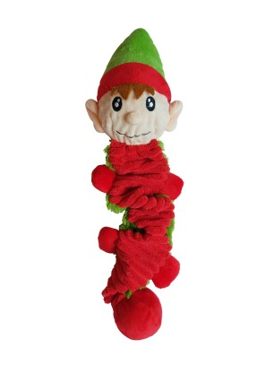 PetLondon - Bungee Ball Tug Toy (Elvin the Elf)