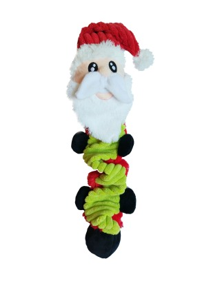 PetLondon - Bungee Ball Tug Toy (Santa)