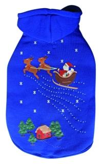 Flashing Santa Hoodie