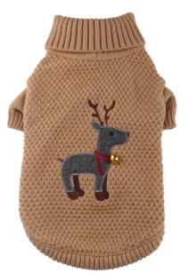 Tartan Reindeer Jumper
